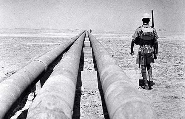 patrolling the oil pipelines