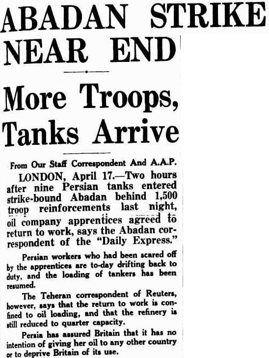 Troops and tanks to break the workers\' strike