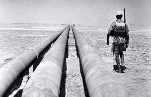 AIOC pipelines in southern Iran, c 1949